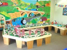 thomas the train play table the train train table my boys would love a wooden train thomas the train play table