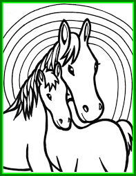 cute baby horses drawing. Brilliant Baby Endorsed Coloring Pages Of Baby Horses Cute Horse Bokamosoafrica Org To Drawing L