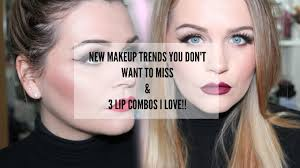 fresh makeup look long lashes 3 lips bos ft dose of colors you