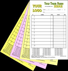 Ballcharts Baseball Softball Lineup Cards Dugout Charts