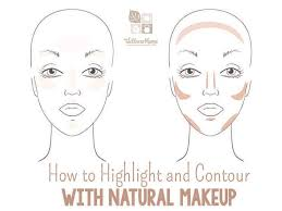 how to highlight and contour with nautral makeup