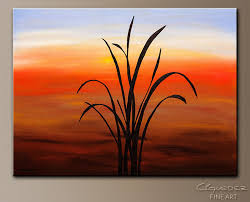 palm beach abstract art painting image by carmen guedez