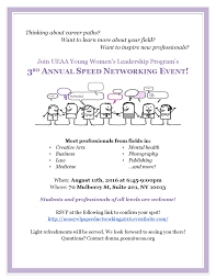 Ywlp Speed Networking Flyer Jpg Page 001 Young Womens Leadership