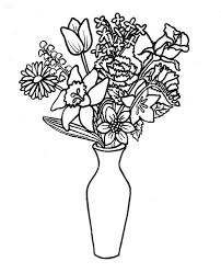 Small Picture Flower Bunch Coloring Pages Coloring Pages