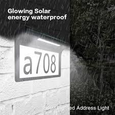Outdoor Address Light Best Offer C693 House Number Solar Light Outdoor Address