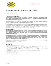 pennzoil xlf synthetic 1 2 pages