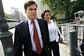 orange is the new white collar fortune timothy rigas left former vice chairman of adelphia business solution inc arrives