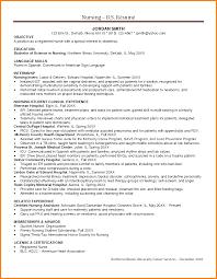 Nursing Resume Sample Objective Beautiful Nurse Resume Sample