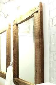 timber framed bathroom mirrors oak framed bathroom mirror unusual wood framed mirrors for bathrooms large wall