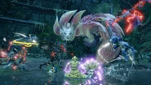 It is the sixth mainline installment in the monster hunter series after. Monster Hunter On Twitter Monster Hunter Rise Demo Is Available Now On Nintendoswitch Team Up And Take On The Sharp Great Izuchi Or The Bubbly Mizutsune With 14 Different Weapon Types And