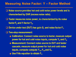 measuring noise factor y factor method noise source provides hot and cold noise