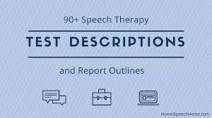 Gfta 3 Norms Chart 90 Speech Therapy Test Descriptions At Your Fingertips