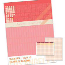 Tract Sister Missionary Countdown Calendar