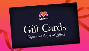 Gift Cards Buy Gift Cards Gift Vouchers Online Myntra