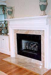 Superb Marble Fireplace Surround Washington Dc