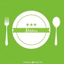 Green Restaurant Menu Background Vector Free Download