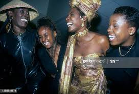 Grace Jones, Cherine Anderson, Audrey Reid and Chevelle Franklyn... News  Photo - Getty Images