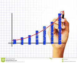 Drawing Chart Drawing A Chart Stock Image Image Of Growth Sketching