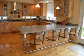 Kitchen Snack Bar Seating-METAL WITH WOOD SEATS contemporary-kitchen