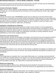Personal Interest Resume How To Write A Resume With No Experience Popsugar Career And