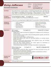 Executive Resume Examples 2017 55 Images Doc 728943