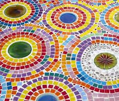 mosaic tile patterns. Delighful Tile Circled Mosaic Art For Tile Patterns