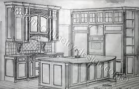 custom kitchen cabinets designs. Kitchen Cabinetry Design Drawings In Details Custom Cabinets Designs W