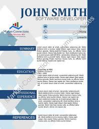 Free Visual Cv Free Visual Resume With Purchase Best
