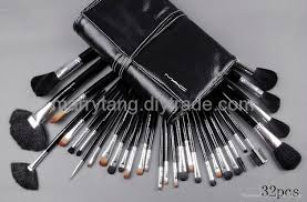 whole 32 pcs set mac makeup brushes cosmetics brush sets