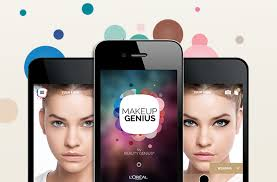 the makeup genius app from l oréal paris is really cool