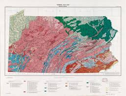 Usgs Soil Classification Chart General Soil Map Pennsylvania Library Of Congress