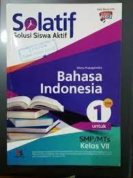 (to)we are going to cinema.5. Jual Solatif Bahasa Indonesia Smp Kelas Vii Di Lapak Buku Mirah Bukalapak