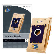 electrolux vacuum bags. electrolux el200f s-bag classic vacuum cleaner bag - set of 5 bags