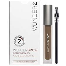 Wunderbrow Shades Chart Amazon Com Wunder2 Wunderbrow Long Lasting Eyebrow Gel For
