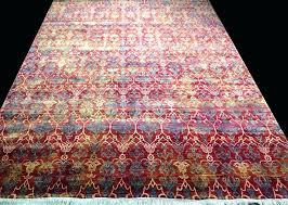 sari silk rug recycled sari silk rug manufacturers