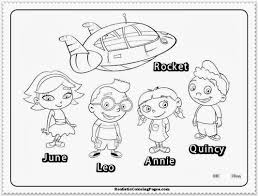 Small Picture Little Einsteins Coloring Pages Realistic Gekimoe 69834