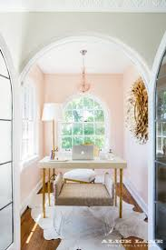 home office office. show nu0027 tell historic ivy flat remodel pink home officessmall office