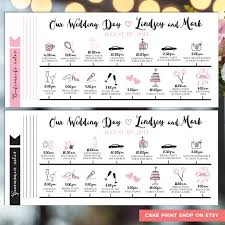 wedding day itinery printable wedding itinerary wedding day itinerary wedding day