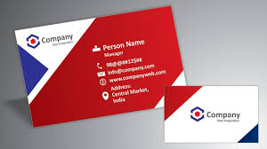 Make Your Own Business Card Design Make Your Own Business Cards In Hindi How To Create Print Ready Business Card Ready