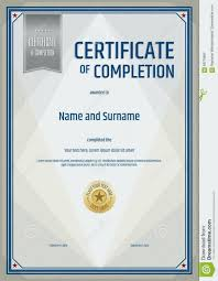 Templates For Certificates Of Completion Certificate Of Completion Template Templates Courses Grnwav Co