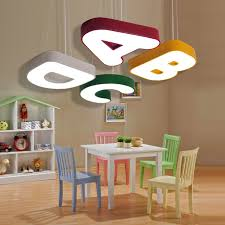 childrens ceiling lighting. Children Lamp Cute Alphabet Ceiling Lights Childrens Room Boy Bedroom Warm Romantic Nursery Top Lighting H