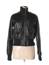 pin it forever 21 women faux leather jacket size l