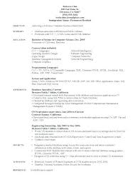 Statistical Programmer Sample Resume Enchanting Resume Format For Lecturer In Computer Science Letsdeliverco