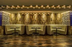 3d wall panels with lighting accent