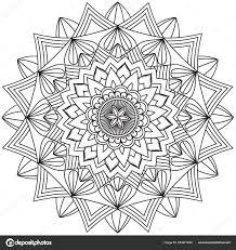 Intricate Geometric Designs Mandala Intricate Patterns Black White Geometric Lace