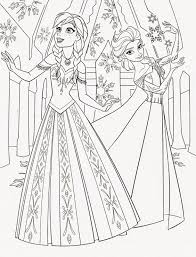 Frozen Elsa Anna Coloring Page Pages Pinterest And Marvelous Baby