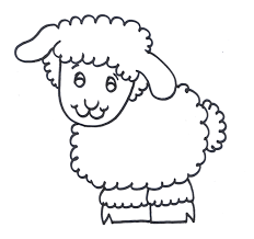 Small Picture Sheep Outline Coloring Page AZ Coloring Pages Sheep Coloring Pages