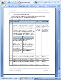 Process Documents Examples Elegant Process Document Template Process