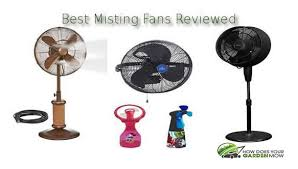 top 4 fans that spray water mist how