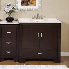 54 Inch Modern Single Bathroom Vanity with Choice of Counter Top ...